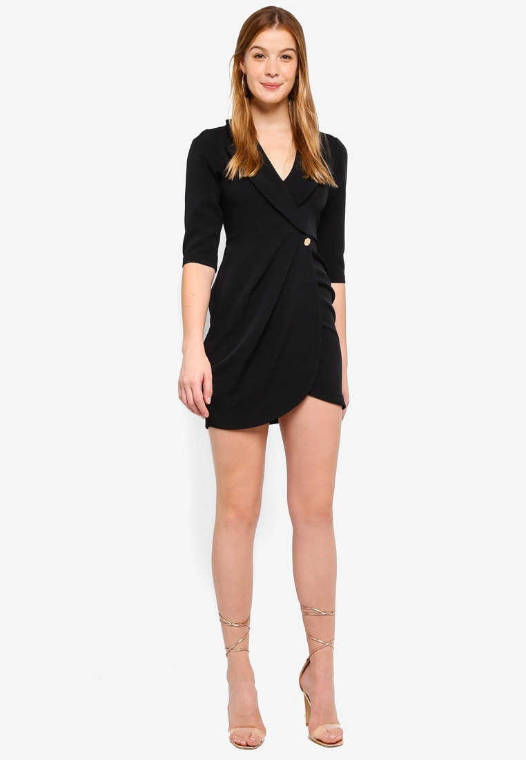 Tux River Agnes Island Dress Black 4Tqapx