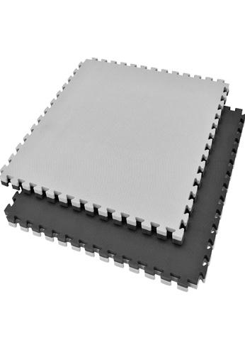 LIVE UP AND LIVE PRO. black and grey EVA Foam Tatami Mat - 50mm (Black & Grey) E2A2CSE7CA7C75GS_1