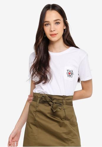 Cotton On white Tbar Fox Graphic T-Shirt 44DBAAA05D1787GS_1