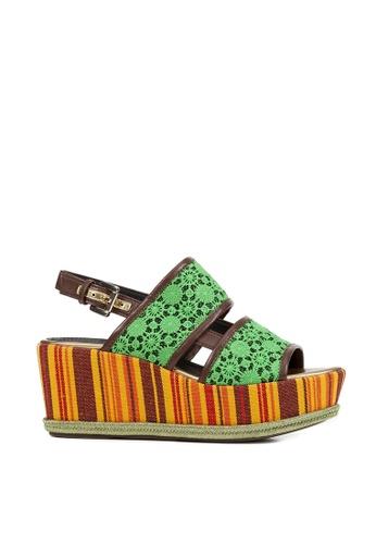 Geox green Sakely Sandal 5AA4ASH8C33582GS_1