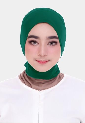 zelena green Zelena Inner Ninja Basic - Dark Green 33C10AA8A253F6GS_1