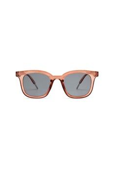 a79a33628471 Kyfer's Eyewear & Essentials black and brown Squared Wayfarer Sunglasses  B3BBAGLA3DDE82GS_1