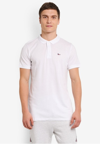 Cotton On white Short Sleeve Icon Polo Shirt CO372AA0SJU8MY_1