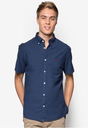 經典短袖襯衫,esprit outlet 家樂福 服飾, 襯衫