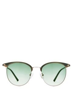 b5df6b87a5 Carin green and gold Carin Henie C2 Half-Frame Sunglasses A17C9GL13E380DGS 1