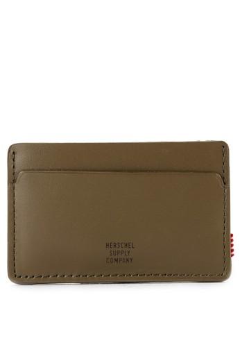 Herschel black Felix Leather Wallet 19CC4AC141B16BGS_1