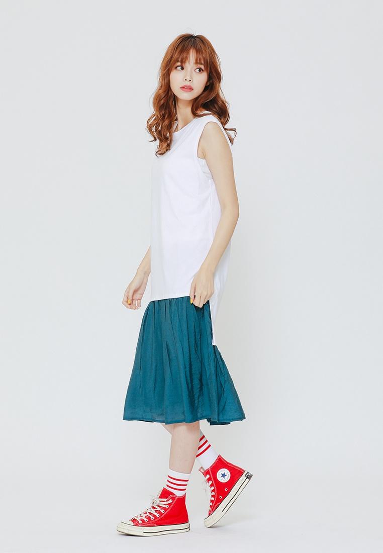 Dress H Irregular CONNECT White T 5qxZw1ASx