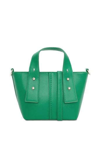 VINCCI green Satchel Bag 76154ACC407A47GS_1