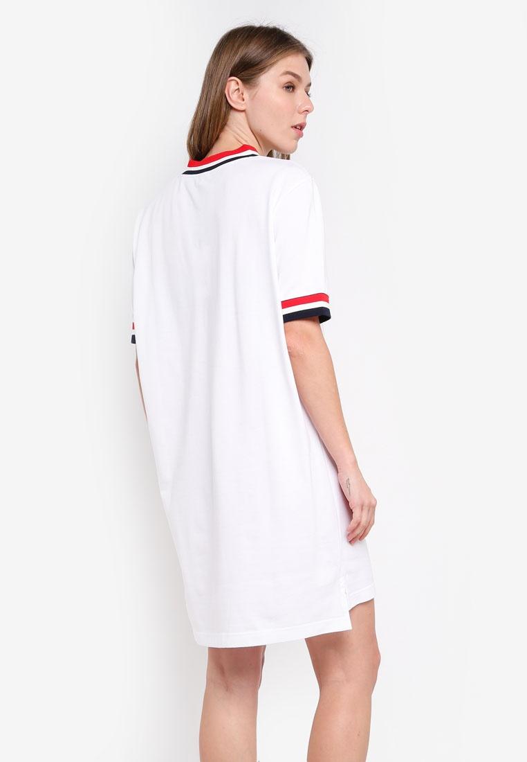 FILA White Heritage FILA Heritage Dress FILA Heritage Dress White Dress White aqgOAwqT4