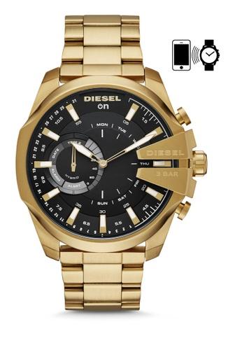 Diesel gold Diesel Mega Chief Hybrid Watch DZT1013 0D0E9ACF2154DFGS_1