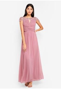 aa5db5fc1f43 27% OFF Little Mistress Blush Keyhole Maxi Dress S  121.90 NOW S  88.90  Sizes 6