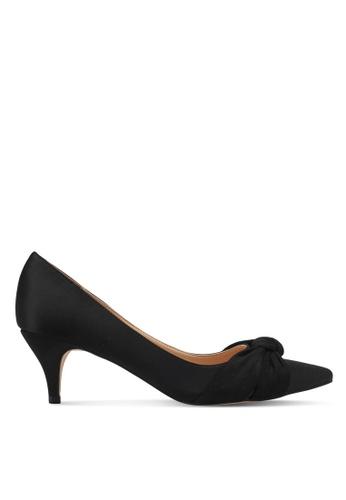 ZALORA black Crossbow Pointed Low Heels 71380SH2BBA41DGS_1