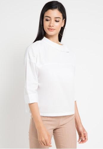 WHITEMODE white Kaylah Blouses 31899AA84A0DE9GS_1