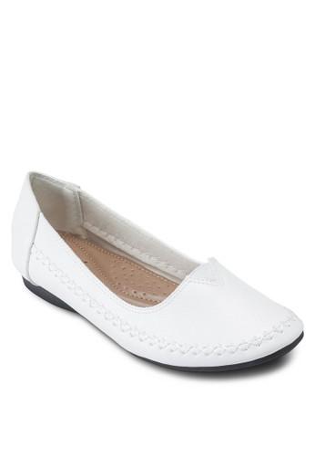 舒適休閒平底鞋, 韓系esprit專櫃時尚
