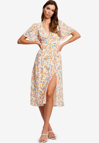 Tussah multi Stevie Midi Dress CACE7AAA3684A0GS_1