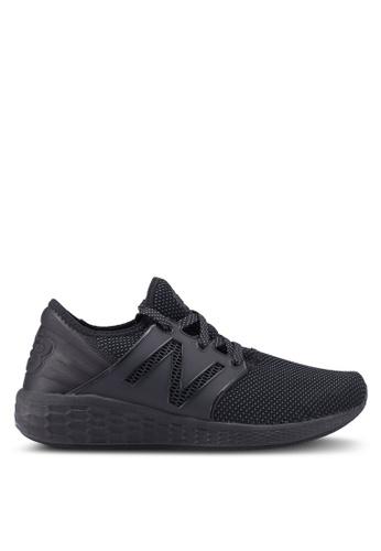 New Balance black CRUZ V2 Reflective Future Sport Shoes 5CCC6SHF124420GS_1