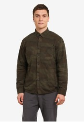 Abercrombie & Fitch green Quilted Jacket AB423AA0SBO3MY_1