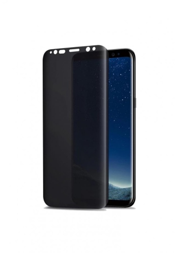 MobileHub black Privacy Anti-Spy Tempered Glass for Samsung Galaxy S8 Plus 72B5DACD10463EGS_1