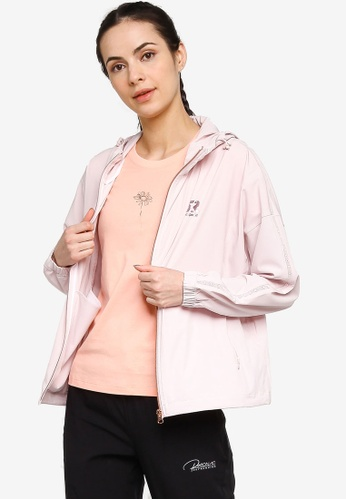 361° pink Sports Life Windbreaker 31A09AA73D78FAGS_1