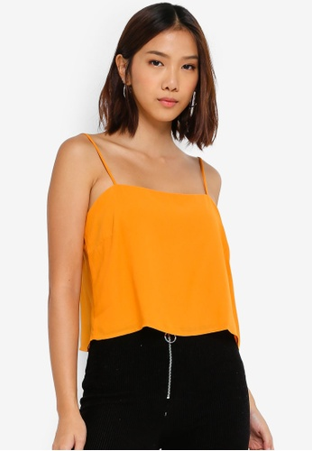 Cotton On yellow Pippa Chopped Cami 53D91AA555D83EGS_1