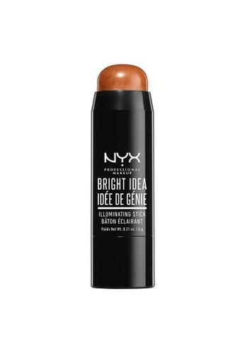 NYX Professional Makeup brown NYX Professional Makeup Bright Idea Illuminating Stick - SUN KISSED CRUSH 00CC3BE39CDF14GS_1