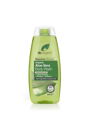 Holland & Barrett Dr Organic Aloe Vera Body Wash 250ml D26B4ES773C028GS_1