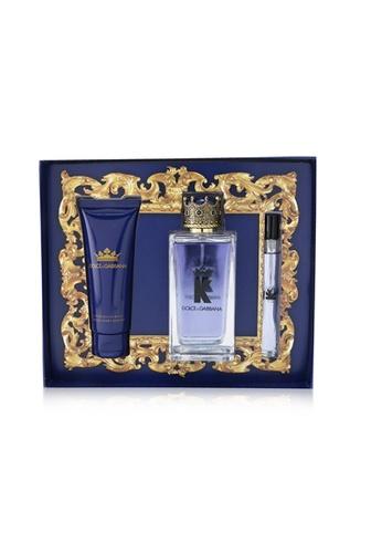 Dolce & Gabbana DOLCE & GABBANA - K Coffret : Eau De Toilette Spray 100ml/3.3oz + Eau De Toilette 10ml0.33oz + After Shave Balm 75ml/2.5oz 3pcs 68EECBE93C02BFGS_1