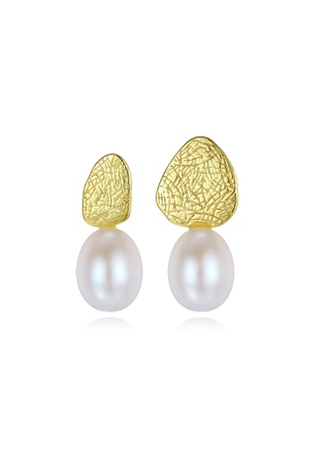 A.Excellence white Premium White Pearl Elegant Earring A18DEAC7BF977BGS_1