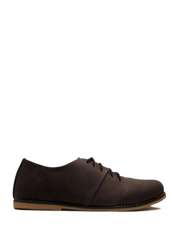 D-Island brown D-Island Shoes Signore Low Comfort Leather Dark Brown DI594SH0VXQDID_1