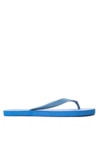 BENCH blue Basic Rubber Slippers BE550SH32LWLPH_1