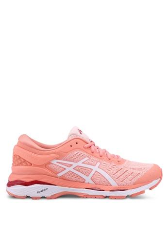 Asics pink Gel-Kayano 24 Shoes AS989SH0SVRMMY_1