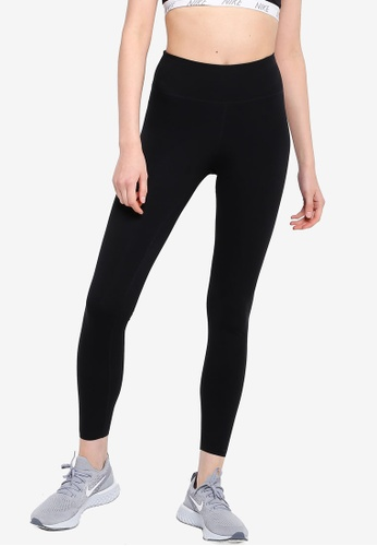 Nike black AS Women's One Luxe Tights 5A7B7AA2395279GS_1