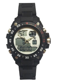 T5 Watch H3449G Digital Plastic Watch