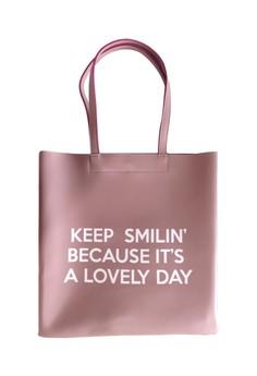 Keep Smilin Tote Bag