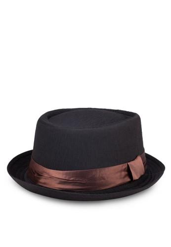 Fullerzalora 心得 飾帶紳士帽, 飾品配件, 飾品配件