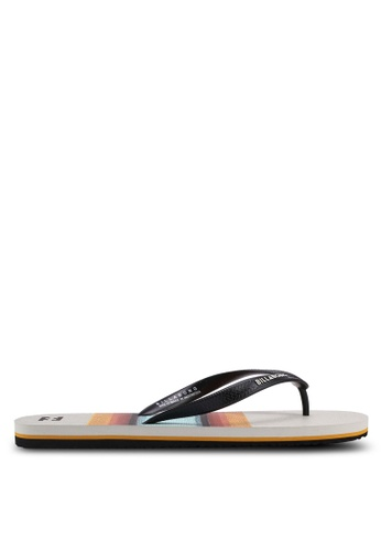 Billabong brown Tides Flip Flops 4552ESH9C492A6GS_1