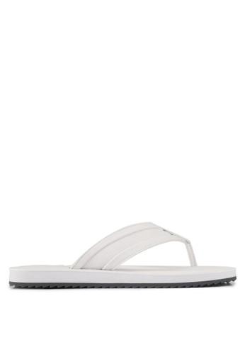 ALDO white Clivelin Sandals 39A8BSH47FA453GS_1