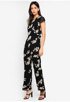 4147f6f5f65c 64% OFF Bardot Rina Floral Jumpsuit S  185.90 NOW S  66.90 Sizes 12