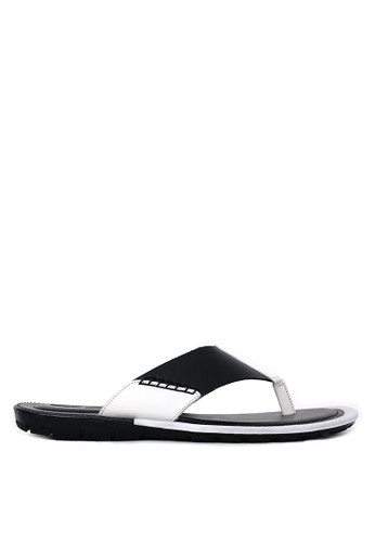 Tony Perotti black Tony Perotti Sandal Arnie - Black TO890SH0VNHVID_1