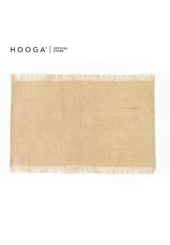 HOOGA brown Hooga Placemat. 3B2BBHLD3EB57EGS_1