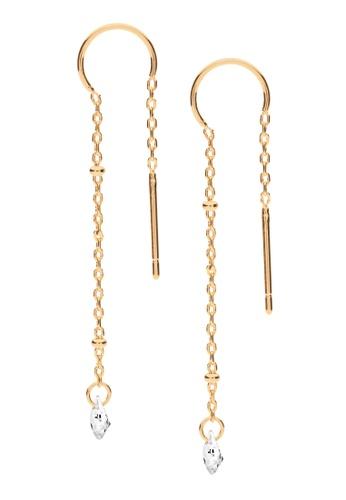 Dear Addison gold Shooting Stars Earrings 91113AC8347E01GS_1