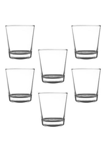Union Glass n/a Thailand Premium Clear Glass Rock Glass Water, Juice, Soda, Liquor Glass 280ml -10oz Set Of 6 51841HL9D19894GS_1