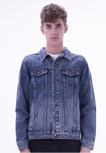 Drum blue Denim jacket  DR425AA74YIZMY_1