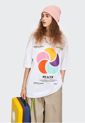 Twenty Eight Shoes Trend Printed Short T-shirt 1599S21 CA096AA2F451DAGS_1