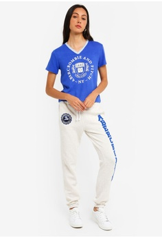 ca369b10 39% OFF Abercrombie & Fitch Cosy Logo T-Shirt S$ 64.00 NOW S$ 38.90 Sizes  XS S M L