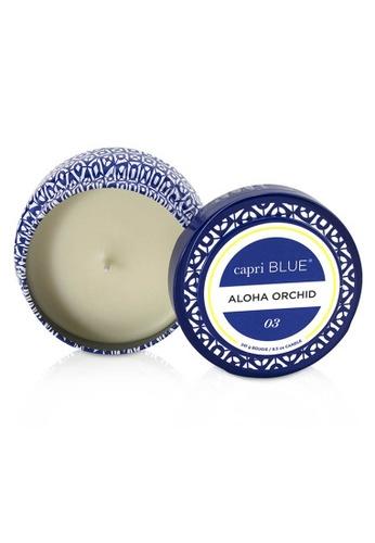 Capri Blue CAPRI BLUE - Printed Travel Tin Candle - Aloha Orchid 241g/8.5oz 7C378HL1DCD813GS_1
