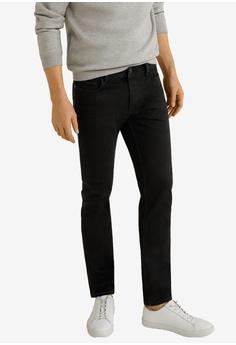 dc1f7111 Mango Man grey Slim-Fit Black Jan Jeans 3D172AA743B5C0GS_1
