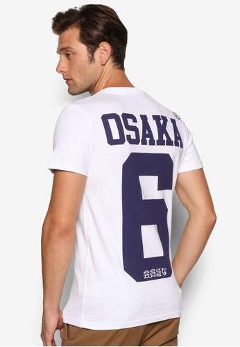 Osaka 6 V 領設計短袖TEE, 服飾,esprit香港分店 服飾