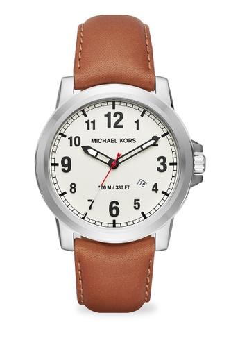MICHAEL KORS brown Paxton Analog Watch MI248AC0K956PH_1