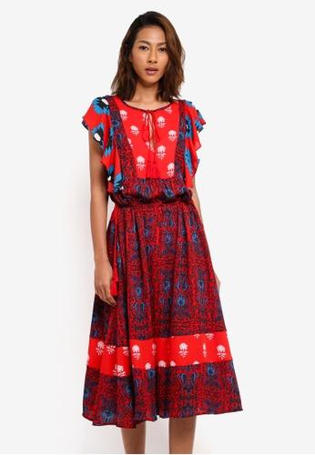 Desigual red Sigrid Dress 2EE1DAA5A37AB7GS_1